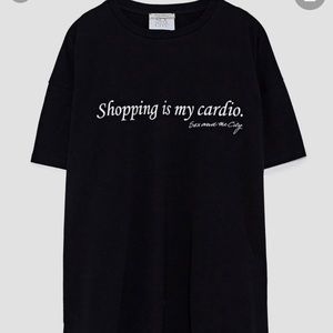 Zara Sex and the City Graphic Tee
